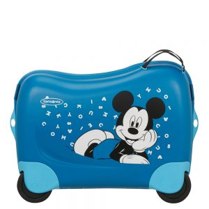 Kleine Reizigers Webshop | Samsonite Dream Rider Disney Kinderkoffer mickey letters