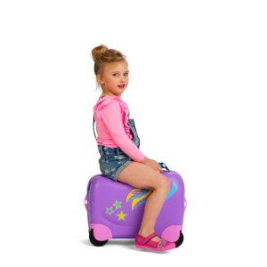 Kleine Reizigers Webshop | Samsonite Dream Rider Kinderkoffer Pony