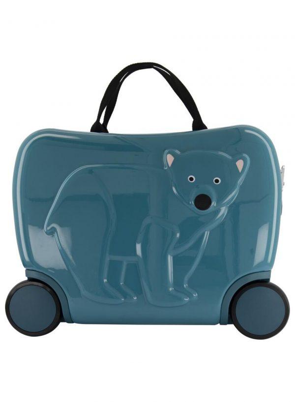 Kleine Reizigers Webshop | Kinderkoffer beer