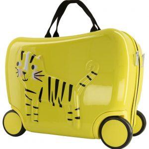 Kleine Reizigers Webshop | Kinderkoffer tijger