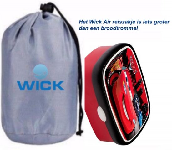 Kleine Reizigers Webshop   Wick Air Vliegtuigbedje