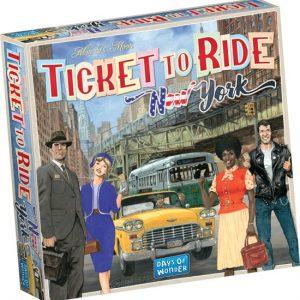 Kleine Reizigers Webshop | Ticket to Ride New York Reiseditie