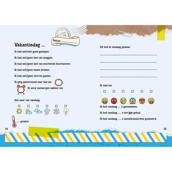 Kleine Reizigers Webshop | Mijn reisdagboek kidseditie