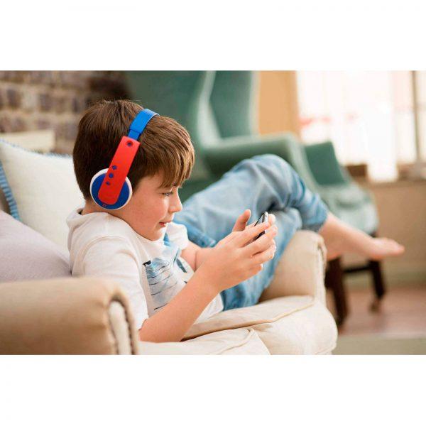 Kleine Reizigers Webshop | JVC kinder bluetooth on-ear hoofdtelefoon