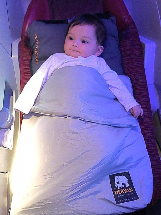 Kleine Reizigers Webshop | Deryan Air Traveller vliegtuigbedje