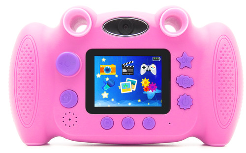 Kleine Reizigers Webshop | Easypix KiddyPix Blizz Roze Kindercamera